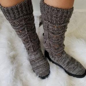 Muk Luks  Knit Winter Boots